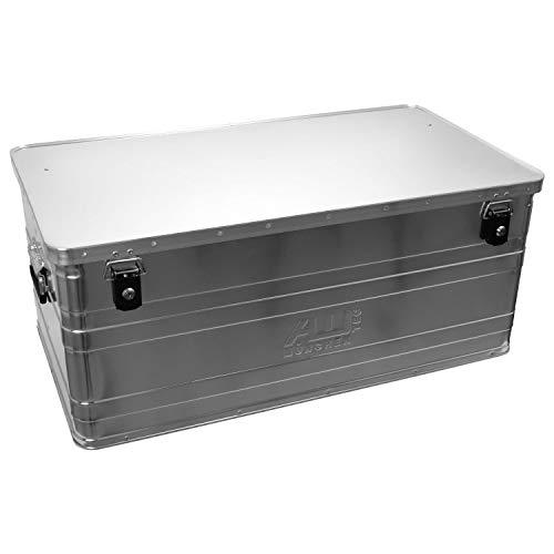 ALUTEC 2031140 Aluminiumbox B140 mit Zylinderschloss, 900 mm x 490 mm x 380 mm