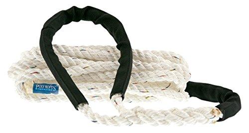 PolyRopes Storm 14mm 6m Cuerda dámarrange Unisex para Adulto, Color Blanco
