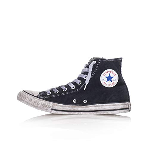 Converse, Unisex adulto, Chuck Taylor All Star High Canvas LTD Nere Smoke In, Tela, Sneakers Alte, Nero, 36 EU
