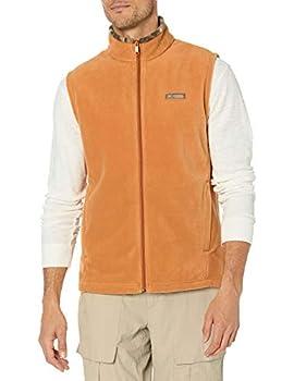 Columbia Men s PHG Fleece Vest Canyon Gold/Rt Edge 2X Big