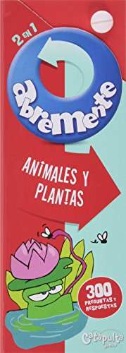 Abremente 2 en 1. Animales y plantas