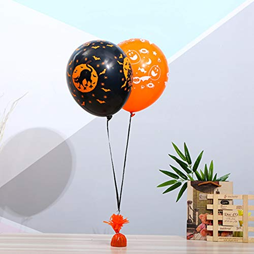 Balloon Weights,Halloween Decoration Birthday Party Balloon Pendant,Heavy Solid Balloon Weights Pack,Pendant Gravity Pendant,Wedding Helium Balloon Load-Bearing Block (Red)