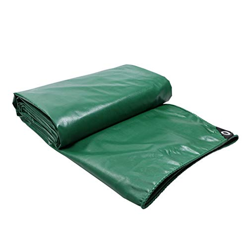 FRDF Waterdicht dekzeil, Multi-Purpose Heavy Duty Tarp Sheet Cover voor Camping, 450g/m2