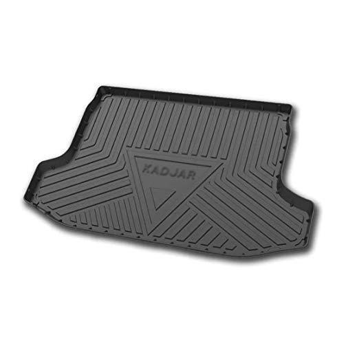 Coche Goma Alfombrillas Maletero para Renault KADJAR 2016-2020, Almohadilla Protectora Impermeable Antideslizante Interior Protection Accesorios