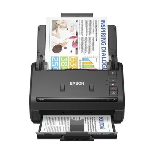 Epson Workforce ES-400 Color Duplex Document Scanner for PC and Mac, Auto Document Feeder (ADF) (Renewed)