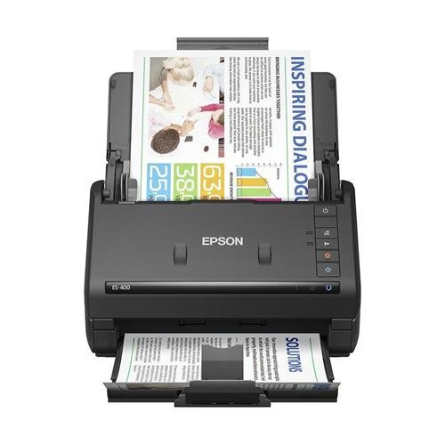 Epson Workforce ES-400 Color Duplex Document Scanner for PC and Mac, Auto Document Feeder (ADF) (Renewed)