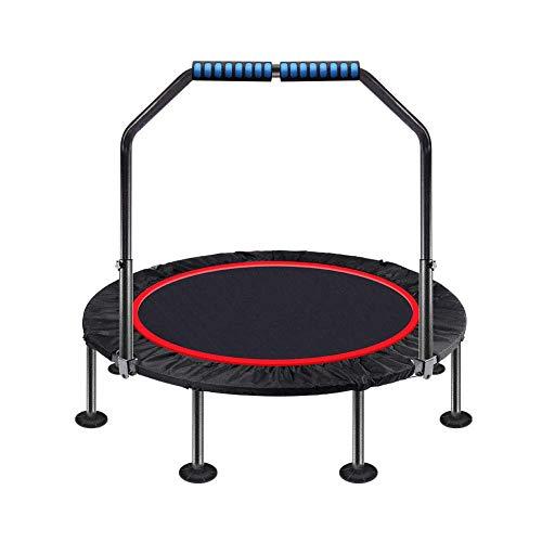 LIUCHANG - Trampolín plegable de 40' (trampolín con pasamanos ajustable para interior/exterior/jardín/yoga/Exercise liuchang20)