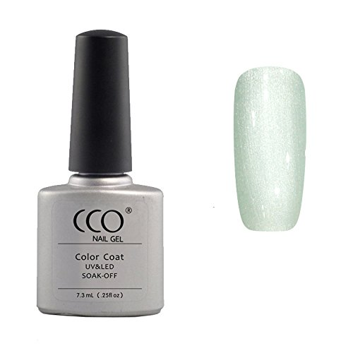 CCO UV LED Soak Off Gel Nagellak, Silver Chrome