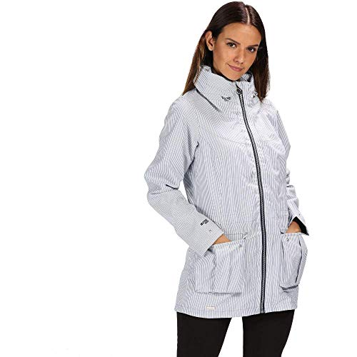 Regatta vrouwen Nakotah waterdicht en ademend verborgen capuchon outdoor jas
