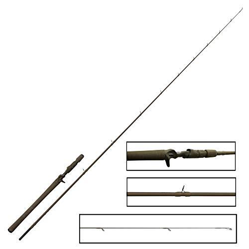 Savage Gear SG4 Vertical Specialist Trigger 198 cm 30-65 g - Caña de pescar para carretes de pesca de perca vertical, caña de spinning para pesca de perca, caña de pescar