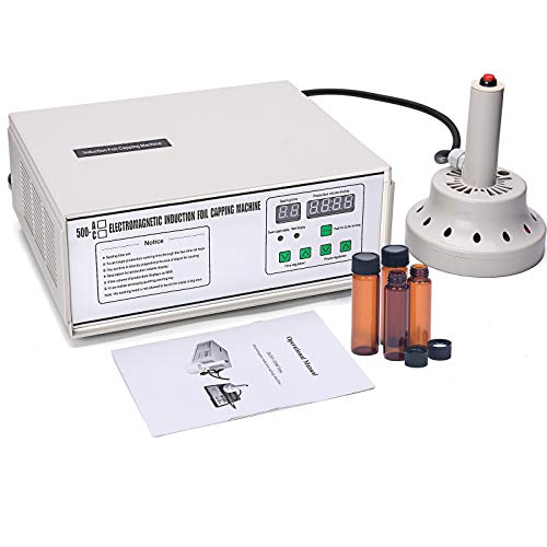 DPL Manual Induction Sealer Bottle Caps Sealing Machine 20 mm - 100mm Bottle vacuum Sealer Machine Food Sealer 110V