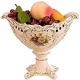 YWSZJ Bandeja de Frutas Bandeja de cerámica de la Fruta Bocado del Cuenco de Fruta Postre Vajilla Plato Bandeja del Cubo Interiores