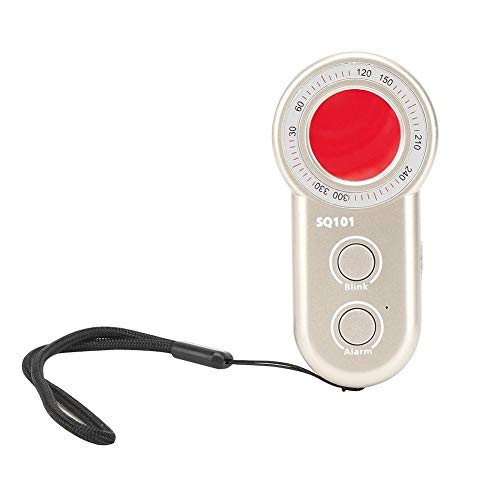 Detector antiespía y buscador de cámara oculta Localizador de escáner de seguridad antirrobo por infrarrojos para el baño del hotel, vestidor, lugares de entretenimiento