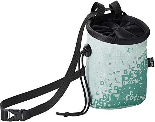 EDELRID Unisex– Erwachsene Chalk Bag Rocket Lady, Mint (488), 14x10
