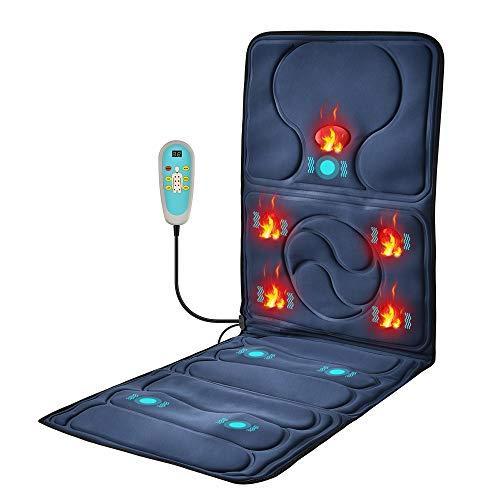 DXFK.AM Erhitzt Massage Matte 9 Vibrieren Massagemotoren, Ganzkörper Massagegerät...