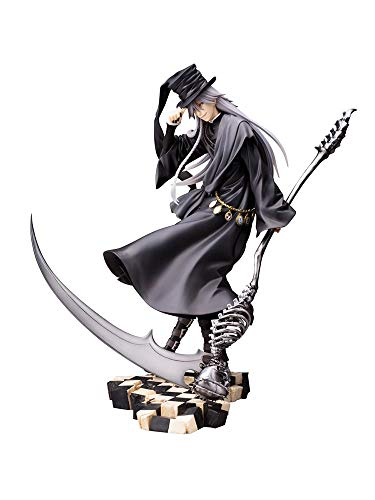 PEJHQY Anime Black Butler Buch des Zirkus Undertaker Artfx J Statue PVC Actionfigur Anime Figur Sammlermodell 18Cm Mit Verkaufsbox-Abmessungen: 18cm