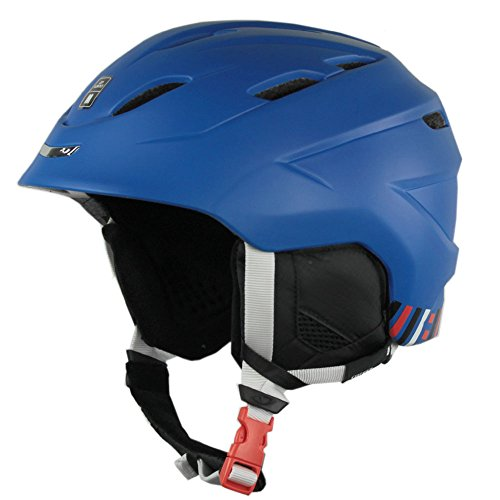 GIRO NINE.10 2015/16 Snowboardhelm Skihelm Ski Snowboard Top Allround 240080(L (59 - 62.5cm),GLOSS BLUE)