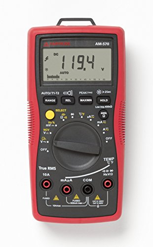 Amprobe AM 570- industrial Digital Multimeter- best multimeter for capacitor testing