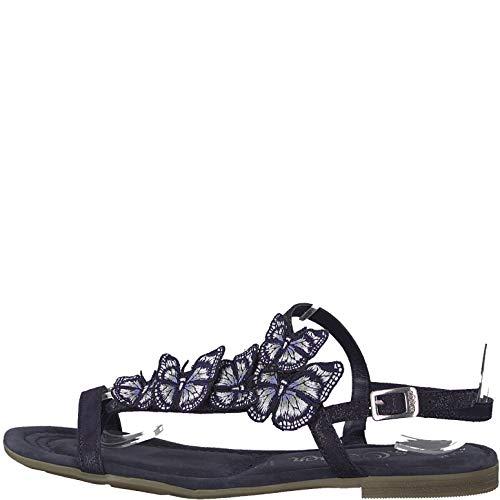 S. Oliver Shoes Woms Sandals Größe 38 EU Navy