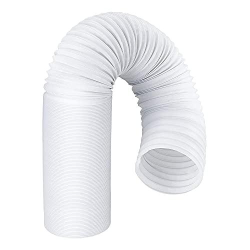 Moligh doll Tubo di Scarico per Condizionatore d'Aria Portatile, Filettatura nel Senso Antiorario da 5 Pollici di Diametro, Ricambio per AC Portatile da 5 Pollici B