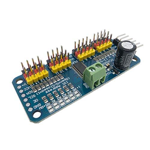 shunbang yuan PCA9685 16 CH 12-Bit-PWM-Servomotortreiber Schild I2C Modul Robot