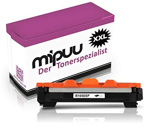 Mipuu Toner compatibel met Brother TN-1050 Black (2000 pagina's) voor HL-1110 HL-1112 HL-1210 HL-1210w HL-1212w DCP-1610w DCP-1612w DCP-1512 DCP-1510 MFC-1810 MFC-1810w MFC-1910w
