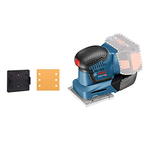 Bosch Professional 18V System Akku Schwingschleifer GSS 18V-10 (Schwingkreis-Ø: 1,6 mm, ohne Akkus und Ladegerät, im Karton)