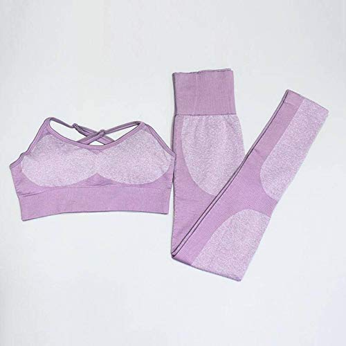 N-B 2 Pieces of Women's Yoga Suits, Sports Suits, Track Suits, Jogging Suits, Sports Suits, Long-Sleeved Pants, Leggings, High-Waisted Gym Suits