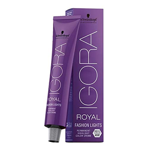 Schwarzkopf Professional Igora Royal Fashion Lights L-49 beige violett, 1er Pack (1 x 60 ml)