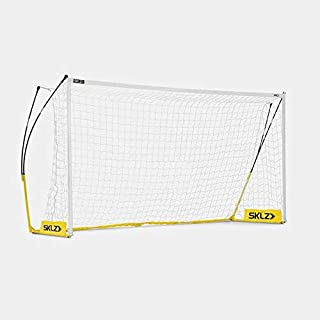 SKLZ Soccer Pro Training Goal - Ultra portable soccer goal built to withstand powerful shots - 18.6 x 6.6 feet