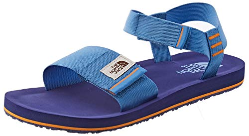 The North Face Mens Skeena Sandal, Chaussure de marche Homme,Donner Blue / Bright Navy,47 EU