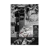 アレンアイバーソン ジグソーパズル98ピース-大人の子供パズルおもちゃゲームクラシックパズル教育ギフト家の装飾壁ア(29x20cm)パズル