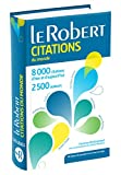Dictionnaire de citations du monde - Version Poche Plus - Le Robert - 05/03/2015