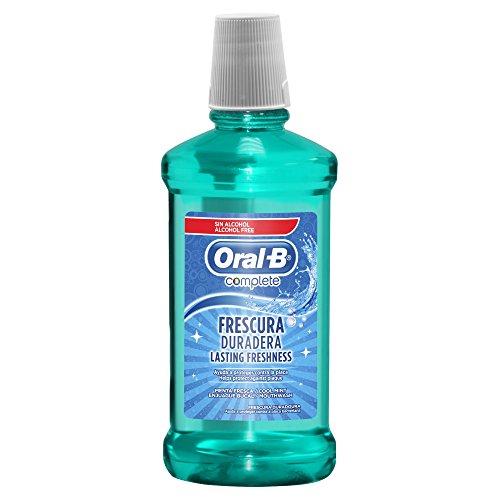 Oral-B Complete Sabor Menta Fresca Enjuague Bucal, 500ml