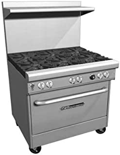 Southbend H4361A-2GR LP - 36-in Range w/ 2-Burners & 24-in Right Griddle, Electric Convection Oven, LP