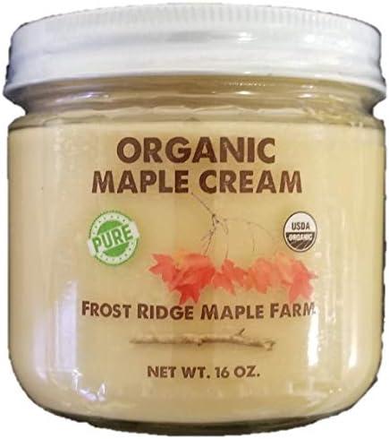 Frost Ridge Maple Farm Organic Maple Cream Grade A One Pound 16 oz product image