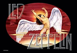 led zeppelin swan song poster