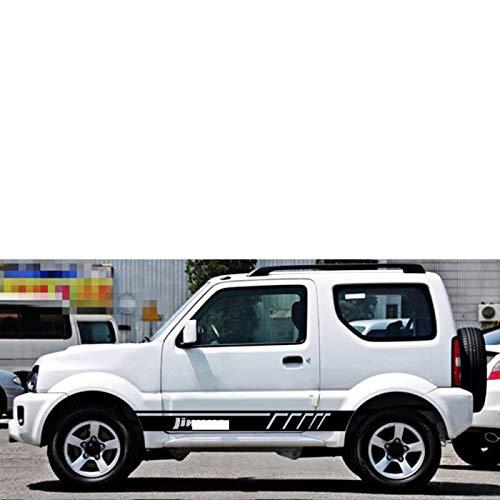 Wongzt Pegatinas de Falda Lateral de Puerta para Coche, para Suzuki Jimny,...