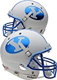 BYU Cougars Schutt Chrome Replica Football Helmet - College Replica Helmets