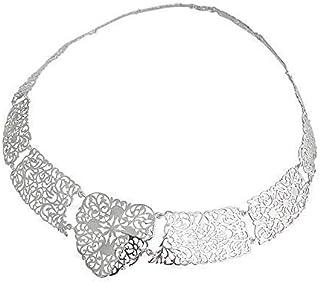Collana traforo in argento