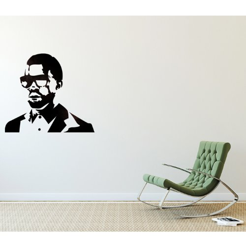 J BOUTIQUE STENCILS Kanye West Stencils Graffiti Template for Wall Art Canvas Painting Spray DIY Decor