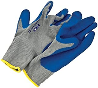 Large Rubber Coated Knit Gloves (1 Pair)