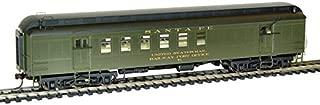 Rivarossi HR4213 Ho Scale Pullman 60' Repo Santa Fe #51 Train Ho Pullman 60 Foot Repo Car, Green