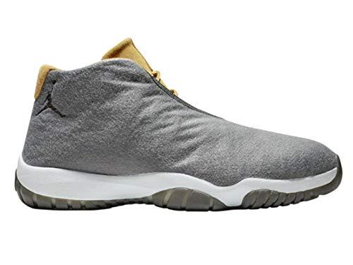 Nike Herren Air Jordan Future Fitnessschuhe, Mehrfarbig (Dark Grey/Dark Grey/Wheat/Pure Platinum 001), 42.5 EU