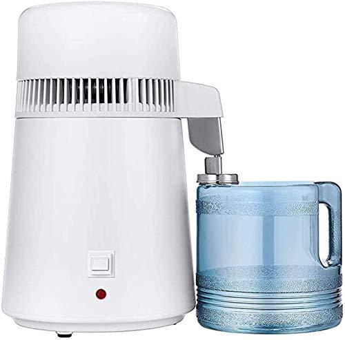 HYDDG Máquina de destilación de Agua Destilación Máquina purificada Máquina de destilación Filtro de Agua de plástico Filtro de Agua de plástico 750W 4L
