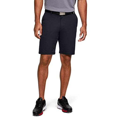 Under Armour Men's Tech Golf Shorts , Black (001)/Black , 34