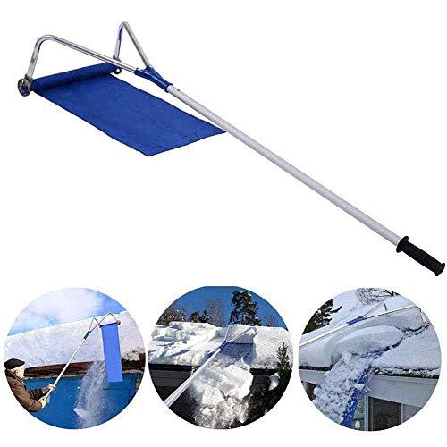 liu Extentool Langstiel-Dachschneewerkzeuge mit Aluminium-Teleskopstange zur Reinigung