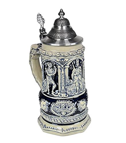 Beer Steins By King - Thewalt 1893 Stein Of Kings Relief German Stein (Beer Mug) 0.75l Limited