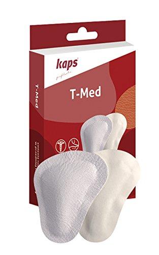Kaps Schuheinlagen T-Med, Orthopädische Vorfußeinlagen, Pelotten, Einlegesohlen - Größe 41/43