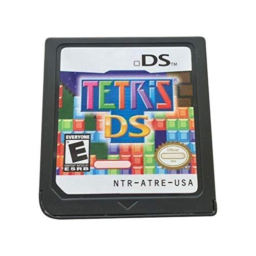 Gyswshh Videospielkarte, Kartusche, US-Version Tetris DS für Nintendo 3DS NDS NDSI Konsole Schwarz schwarz